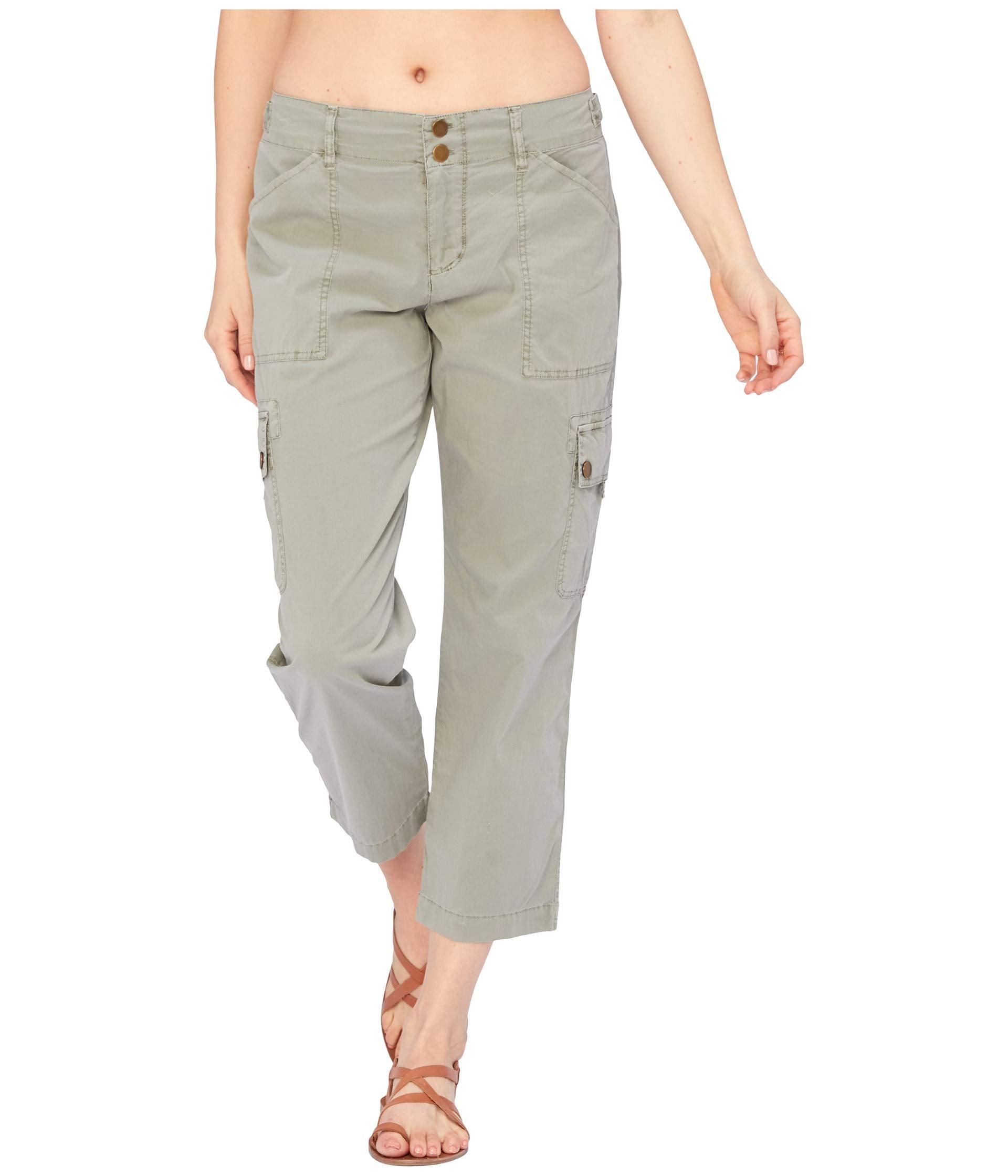 Wearables Alfie Crop Pants in Stretch Poplin