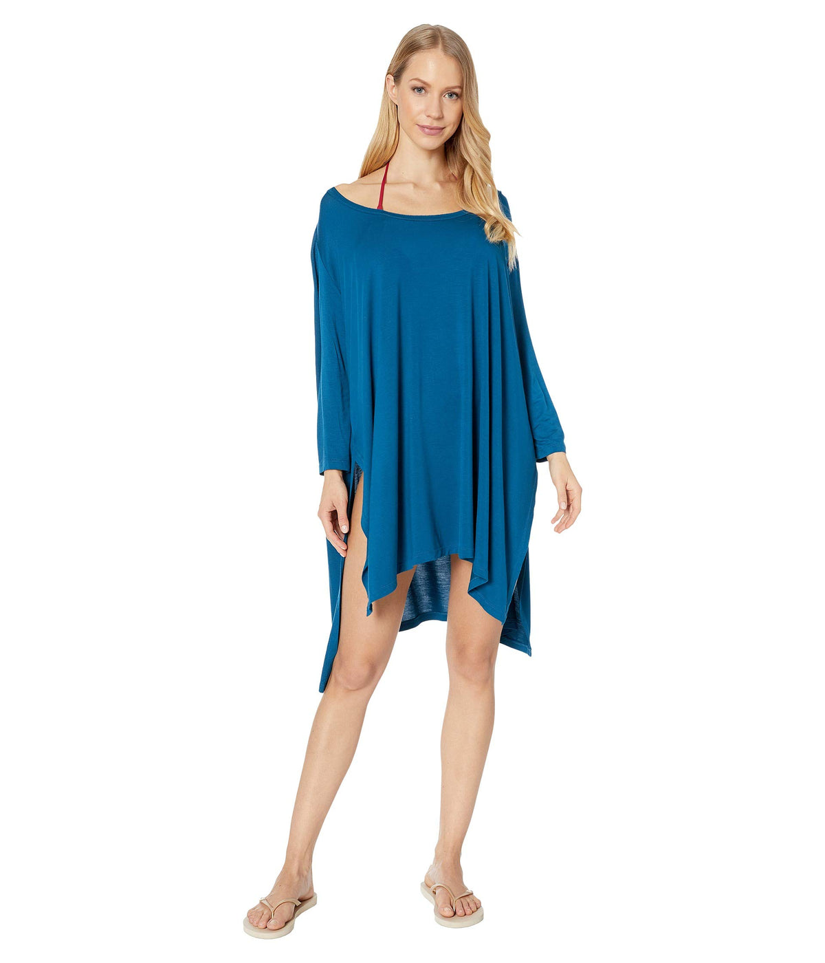 Brynn 3/4 Sleeve Tunic Cover-Up