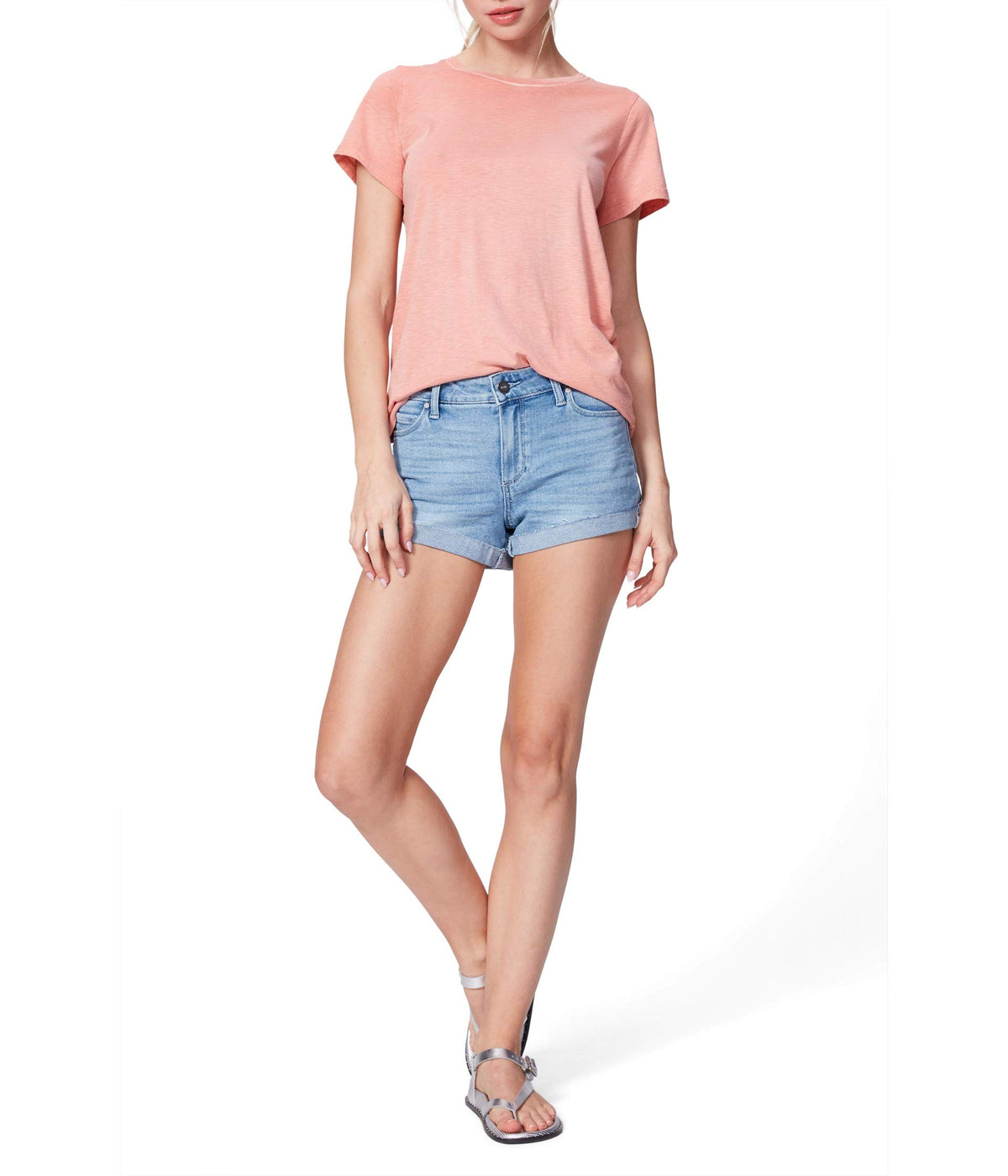 Jimmy Jimmy Shorts w/ Raw Cuff in Belle