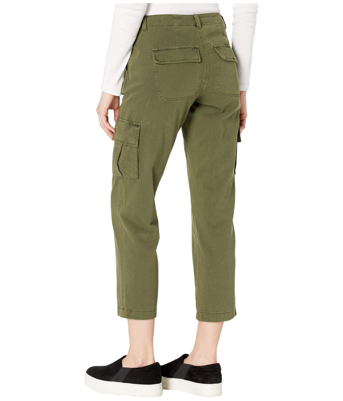 Twill Cargo Pants in Mary Jane
