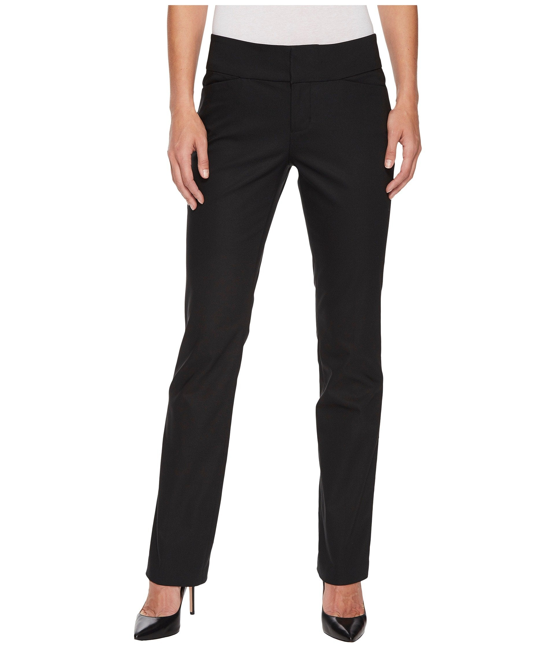 Graham Bootcut Trousers in Black
