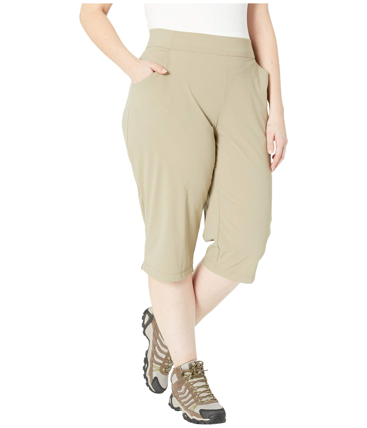 Plus Size Anytime Casual™ Capris