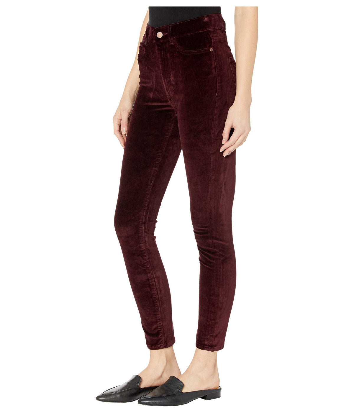 Farrow Ankle High-Rise Instasculpt Skinny in Bordeaux