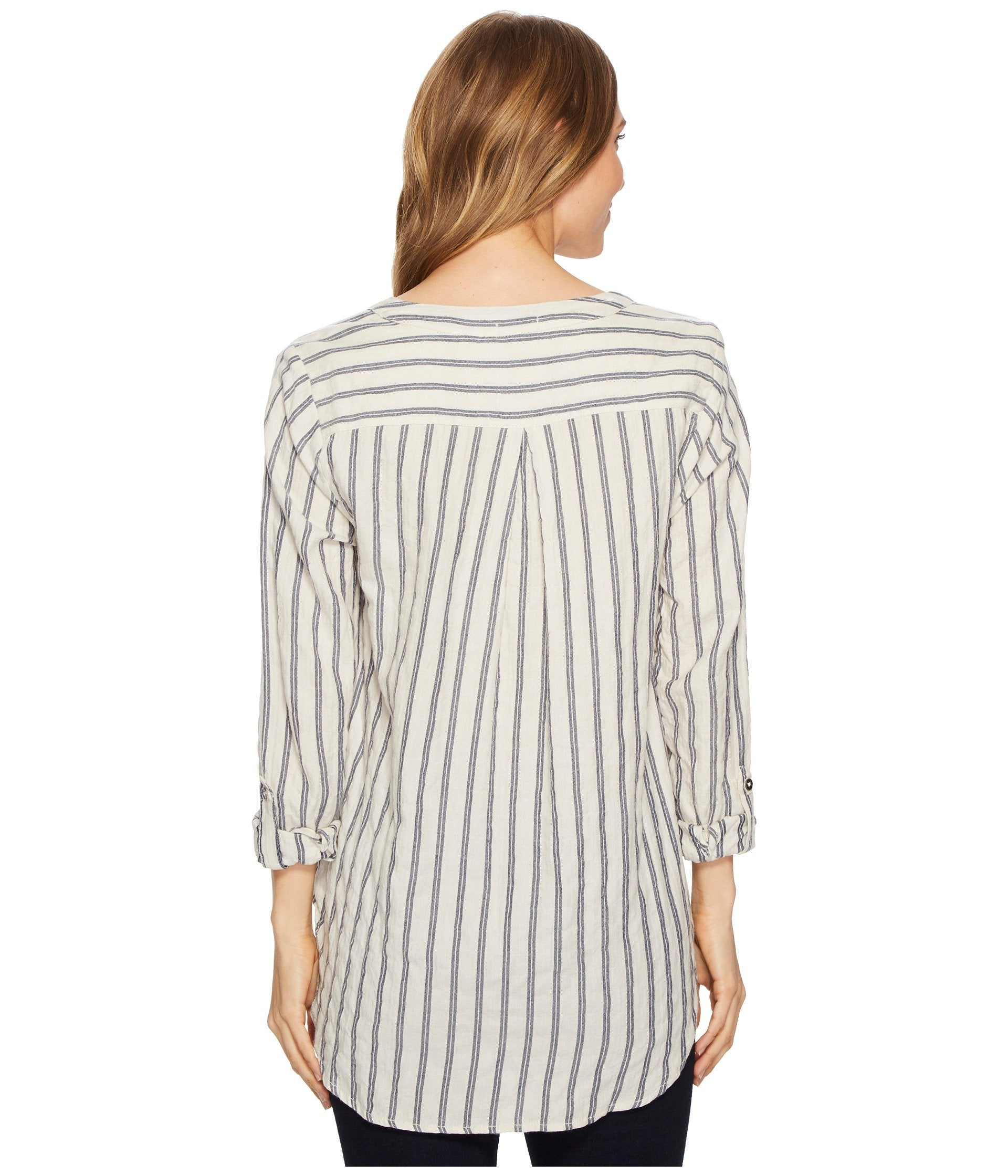 Farmhouse Stripe Long Sleeve Tunic