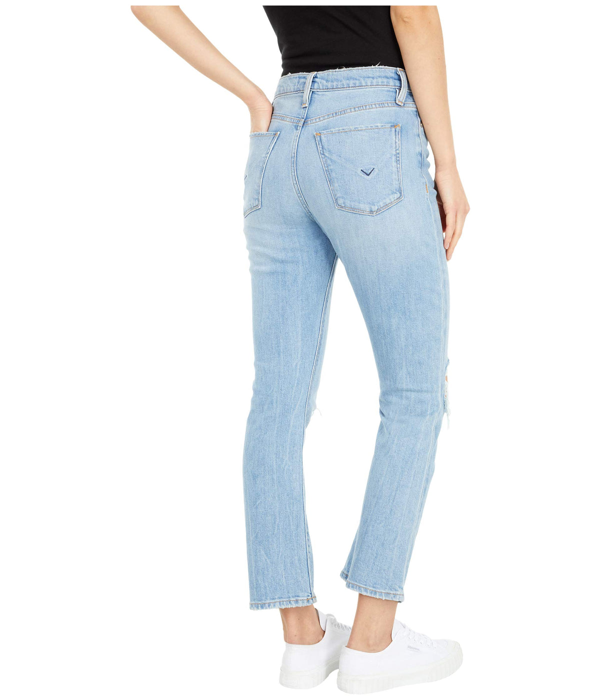 Holly High-Rise Crop Bootcut in Brightside