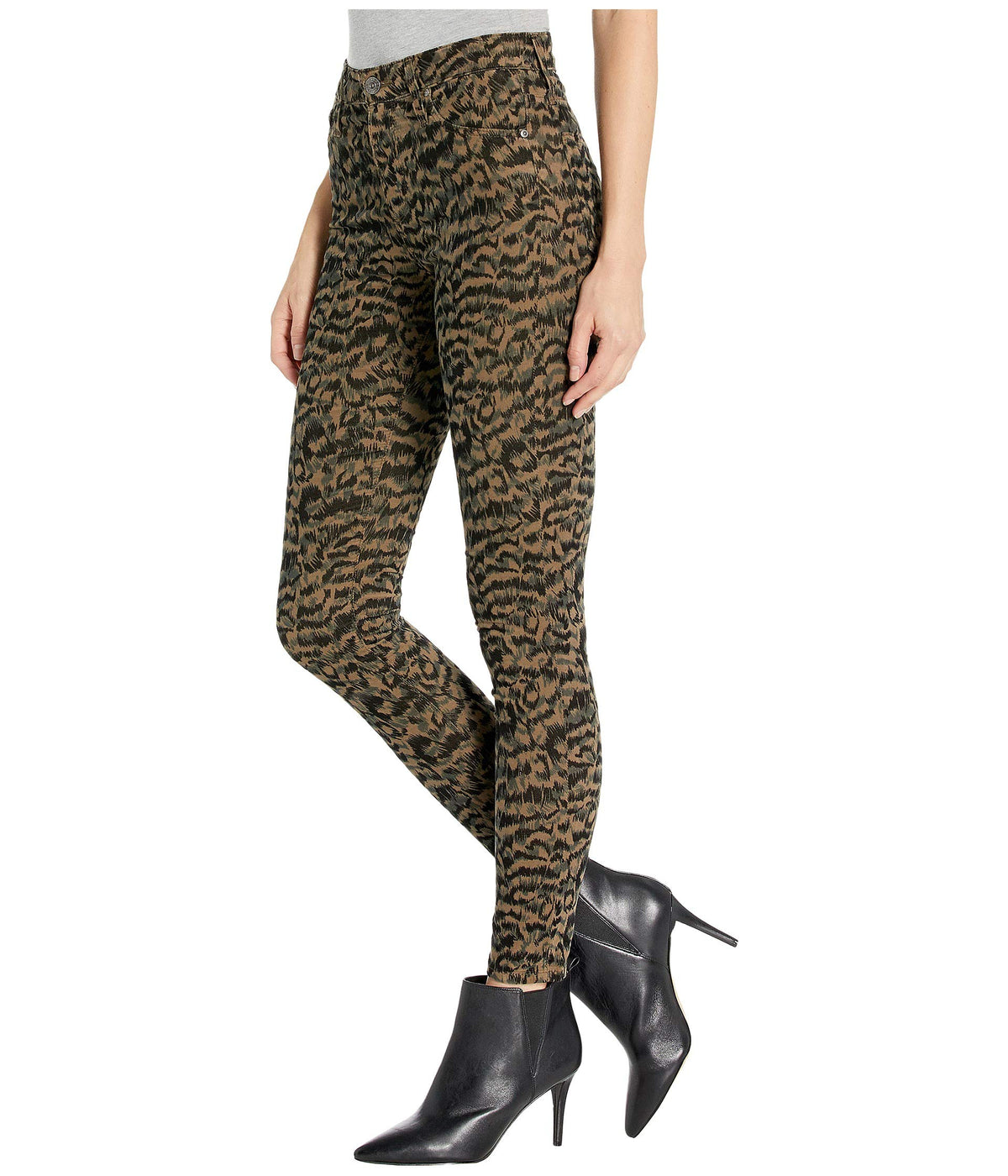 Farrah Skinny Ankle in Shadow A-Dark Bayou/Black