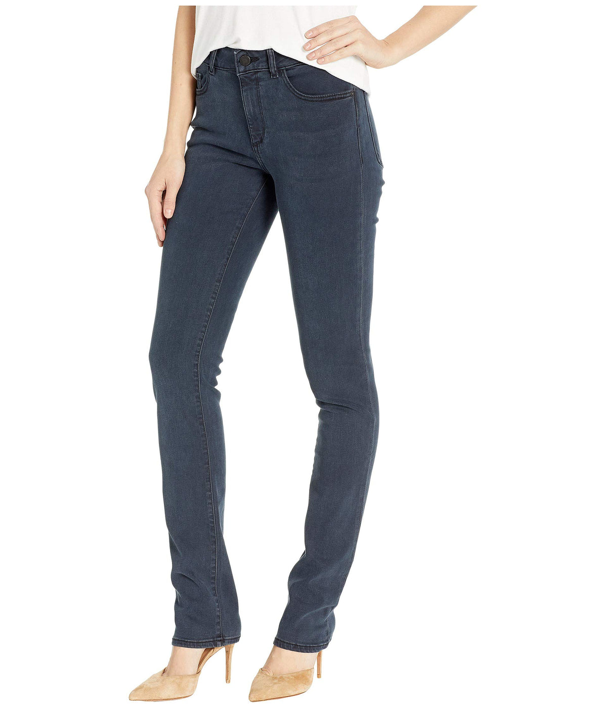 Coco Mid-Rise Curvy Straight in Vance
