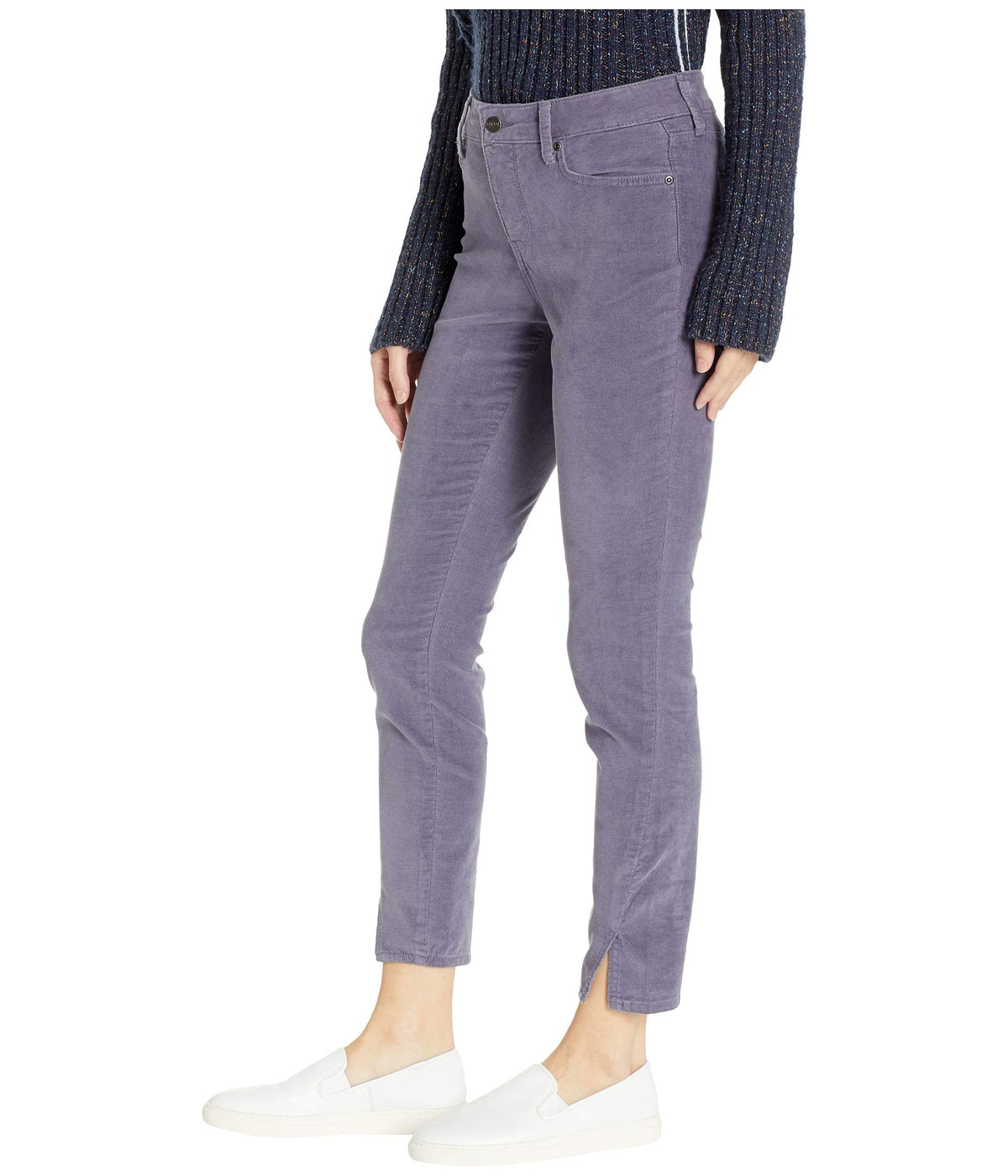 Ami Skinny w/ Twisted Side Seam Slits in Shadow