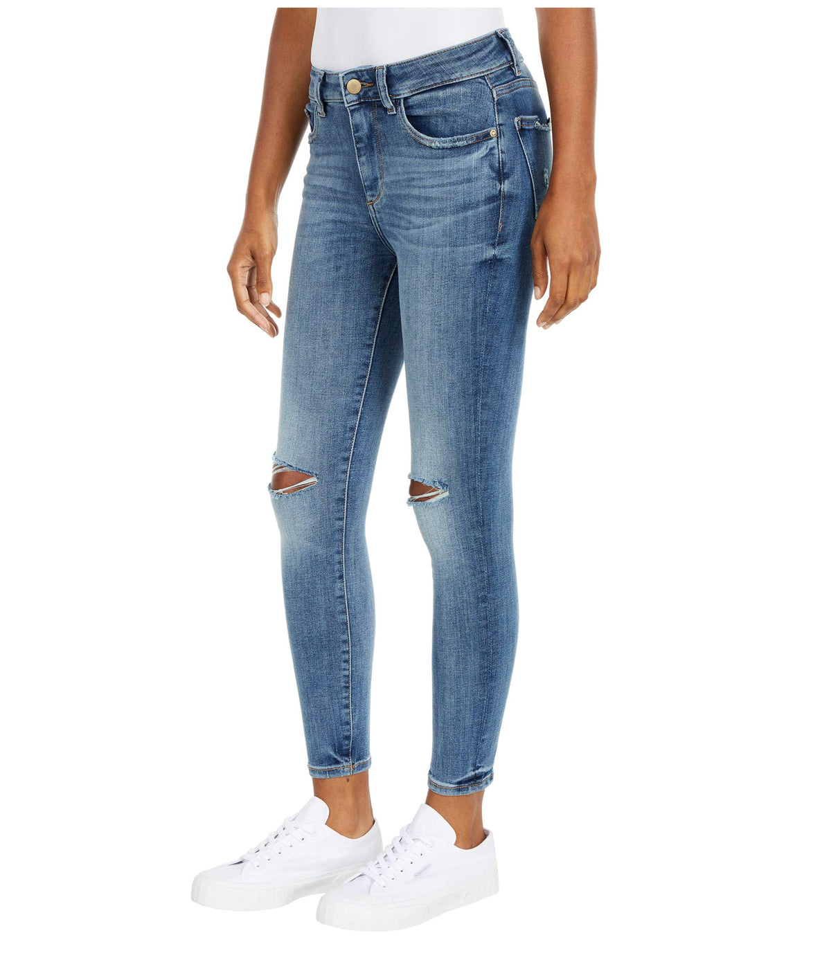 Florence Skinny Mid-Rise Instasculpt Jeans in Prospect