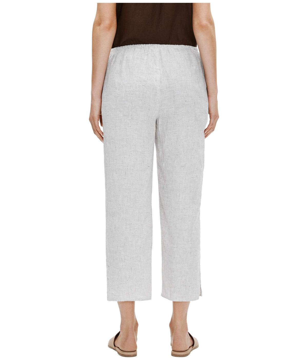 Straight Leg Crop Pants