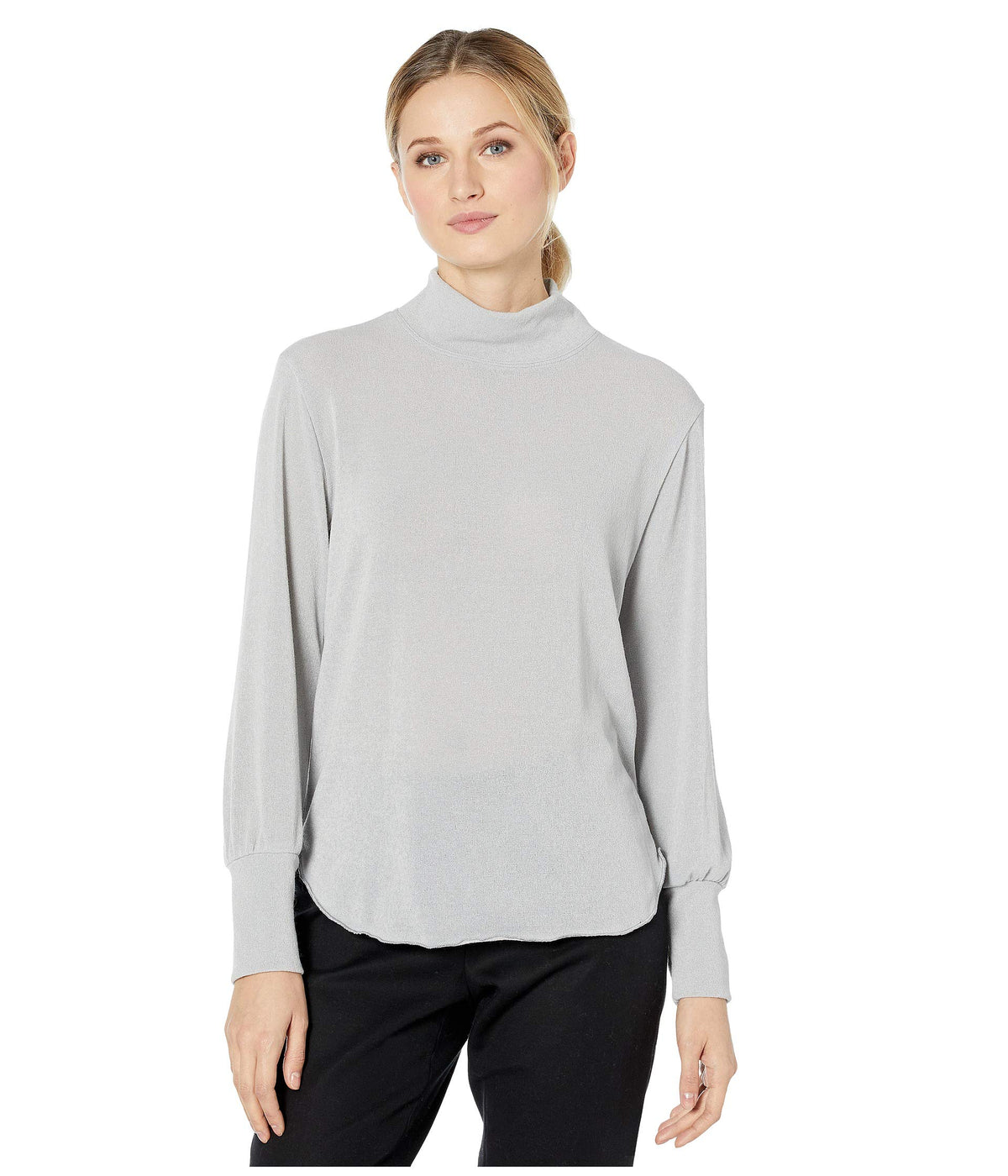Cuff Sleeve Sweater Top