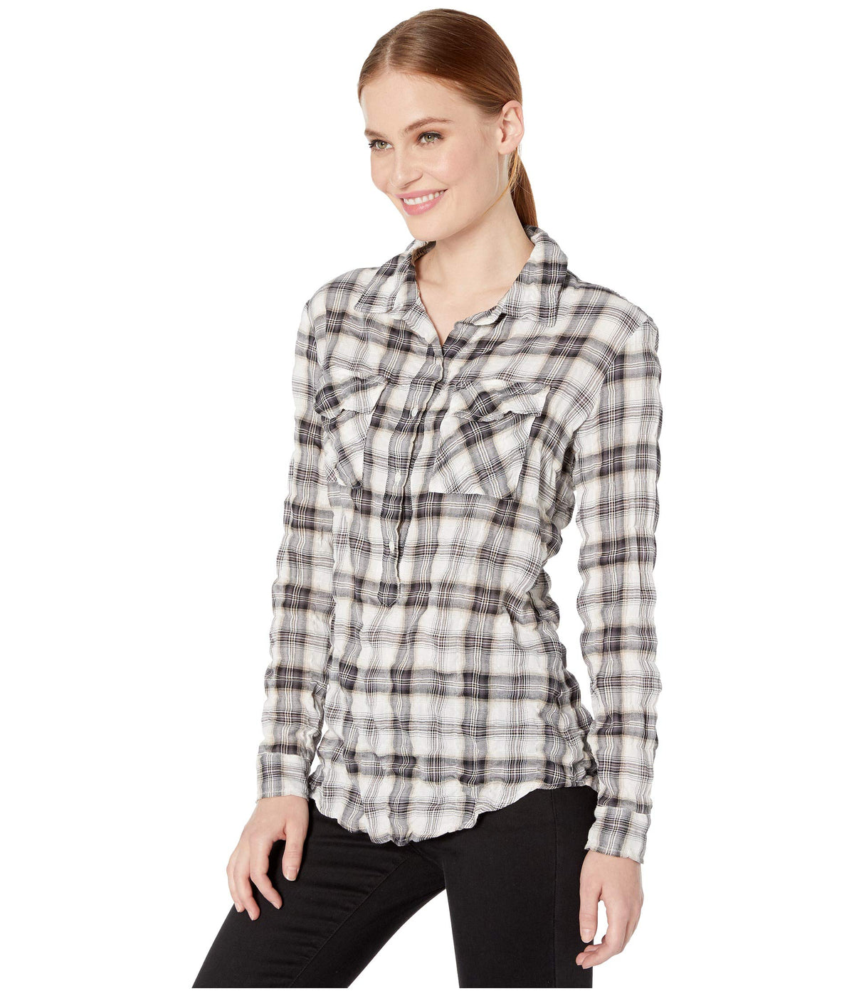 Claid in Plaid Pullover Shirt
