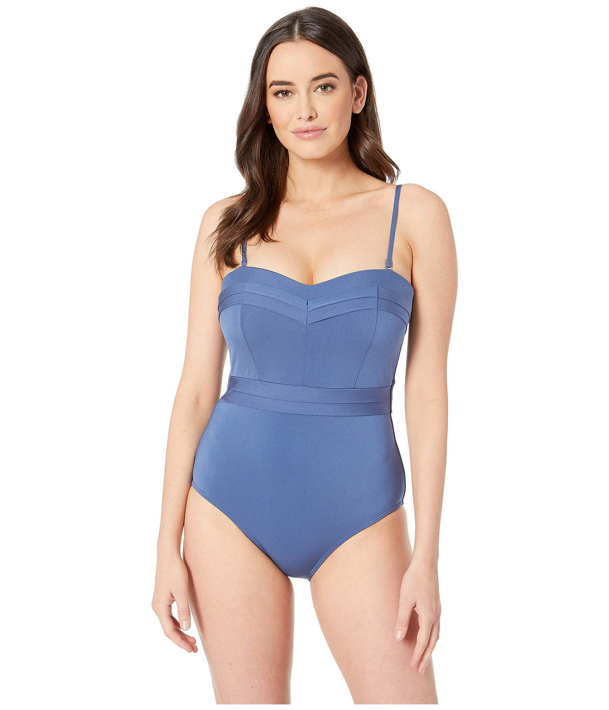 Mirage D-Cup Bandeau One-Piece