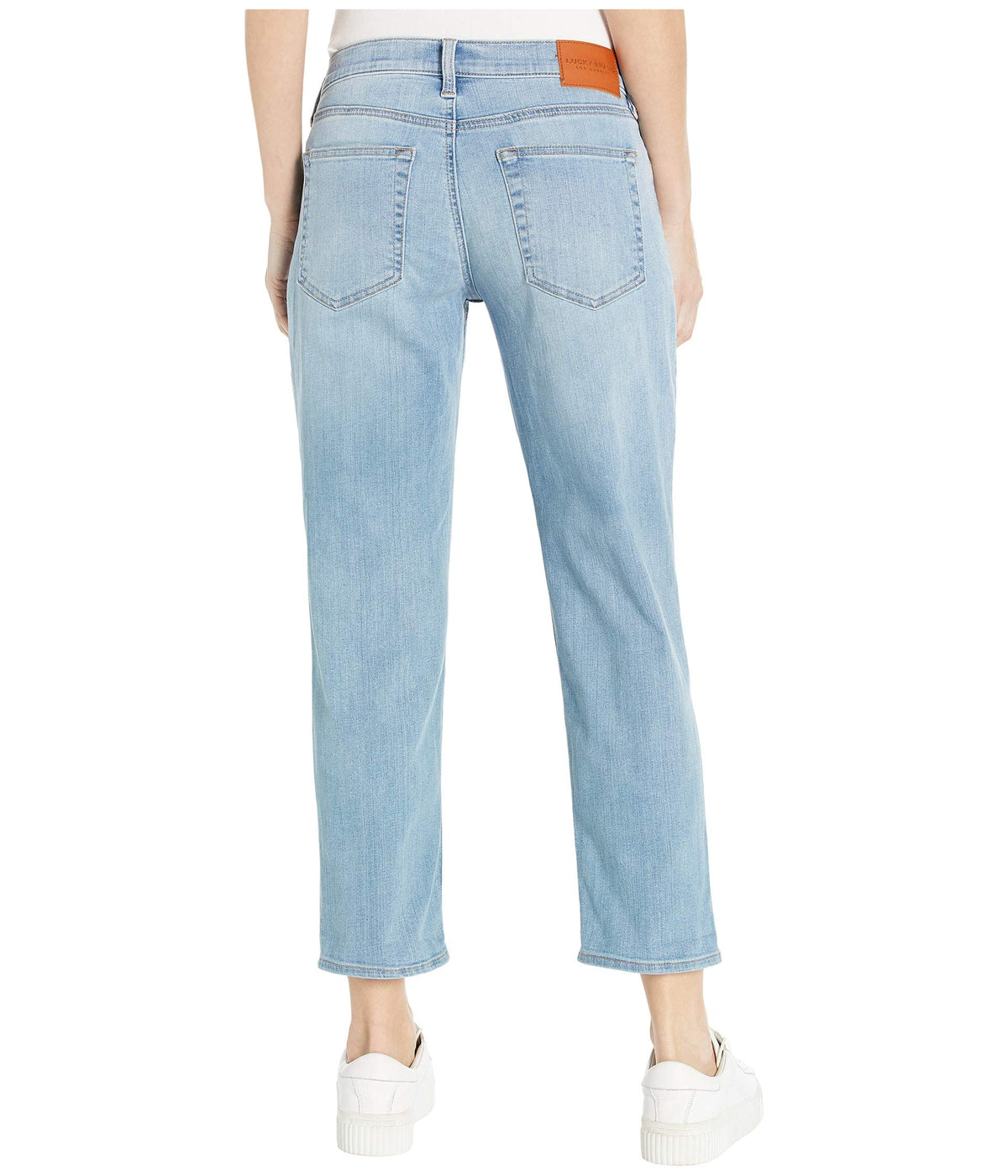 Mid-Rise Sienna Slim Boyfriend Jeans in Sentimental Destruct