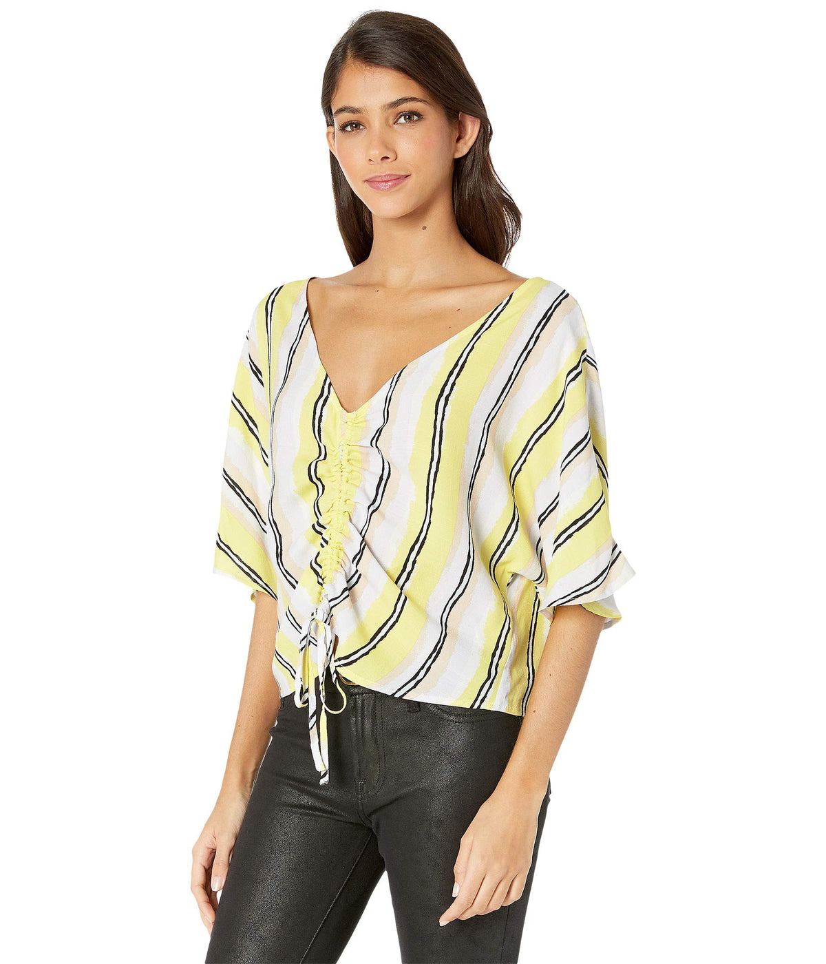 Atala Striped Crepe Shirt