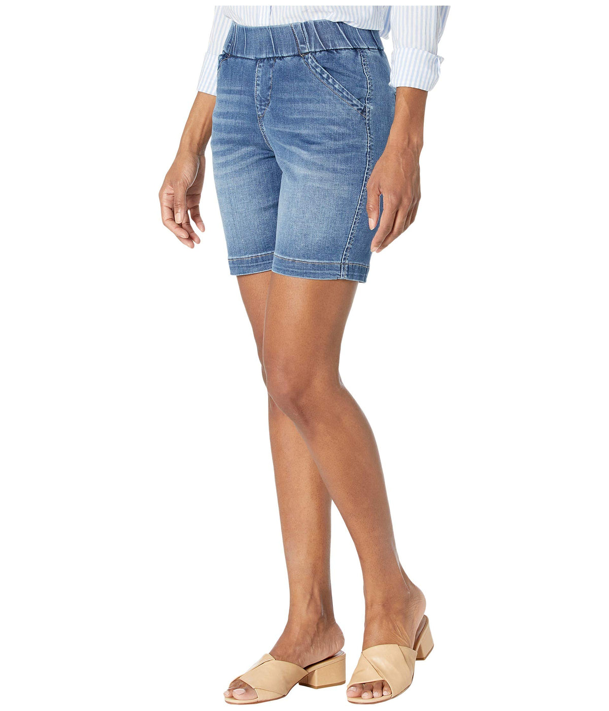 "7"" Petite Gracie Pull-On Shorts"