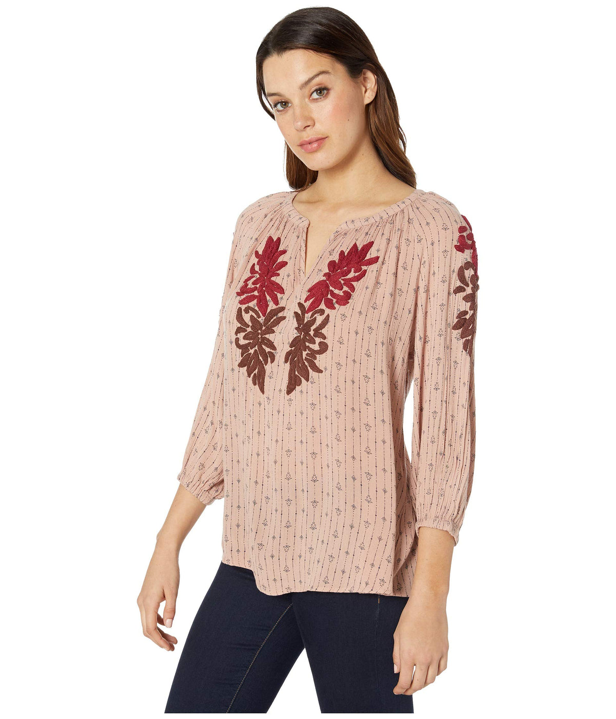 Misato Embroidery Top