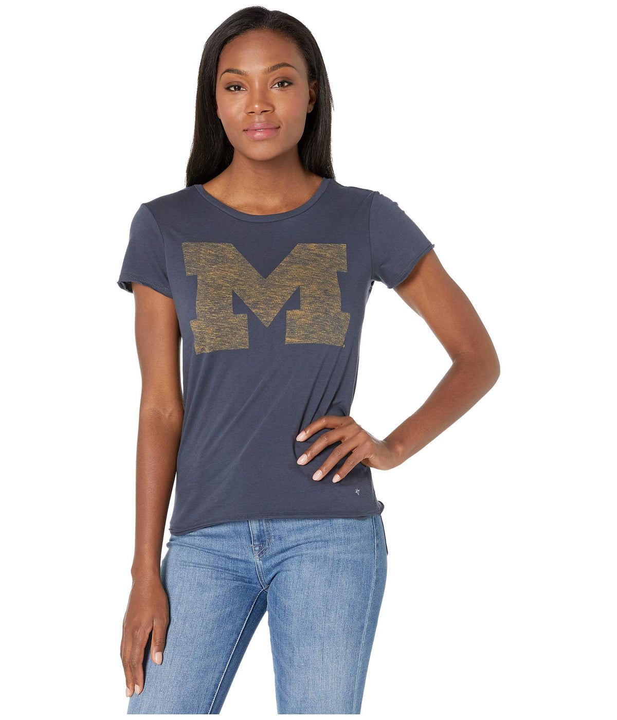 Michigan Wolverines Fader Letter Tee