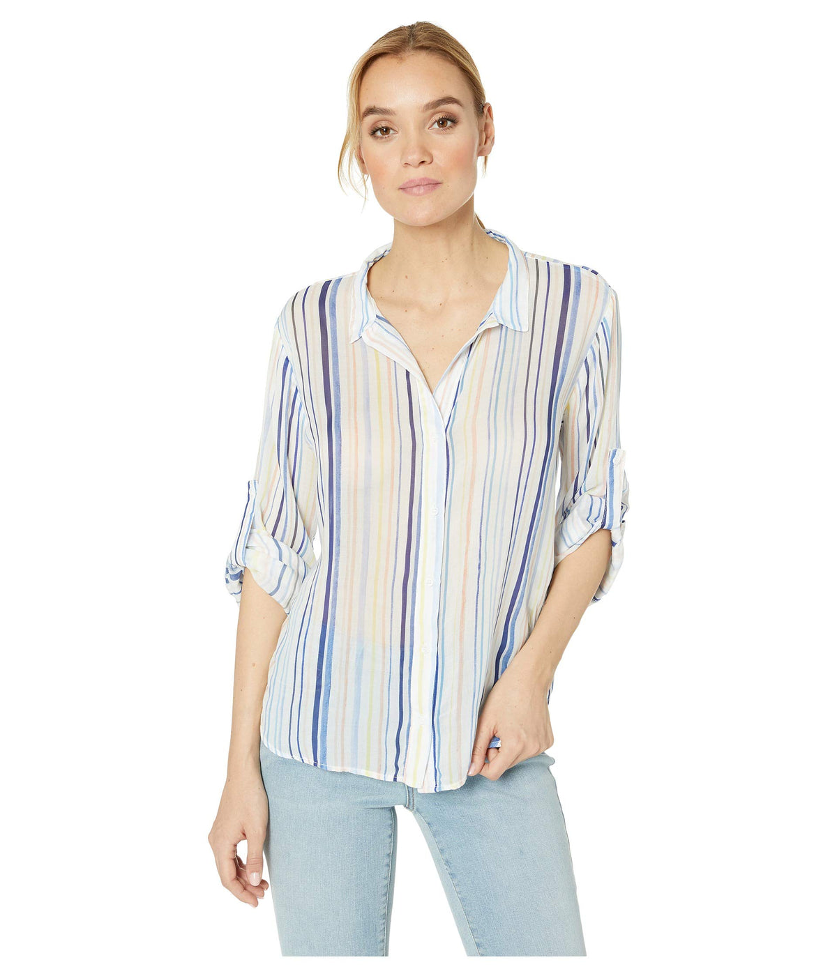 Capri Button Down Top