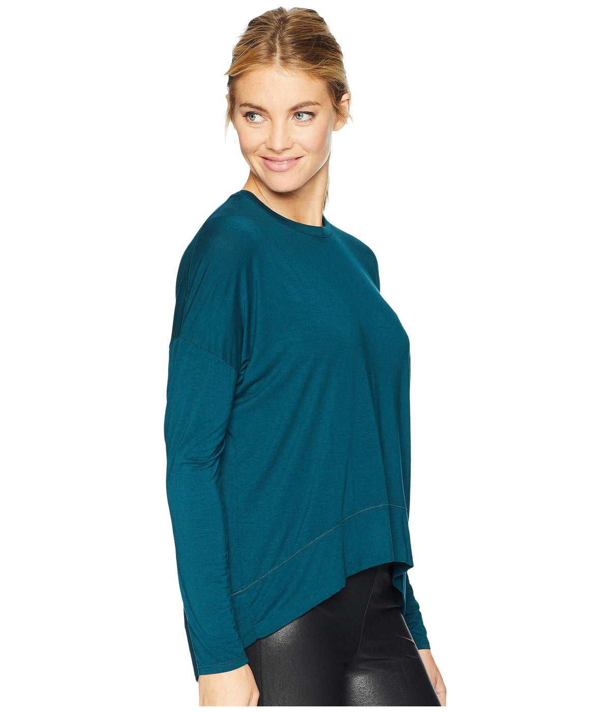 Cozy Pleated Back Top