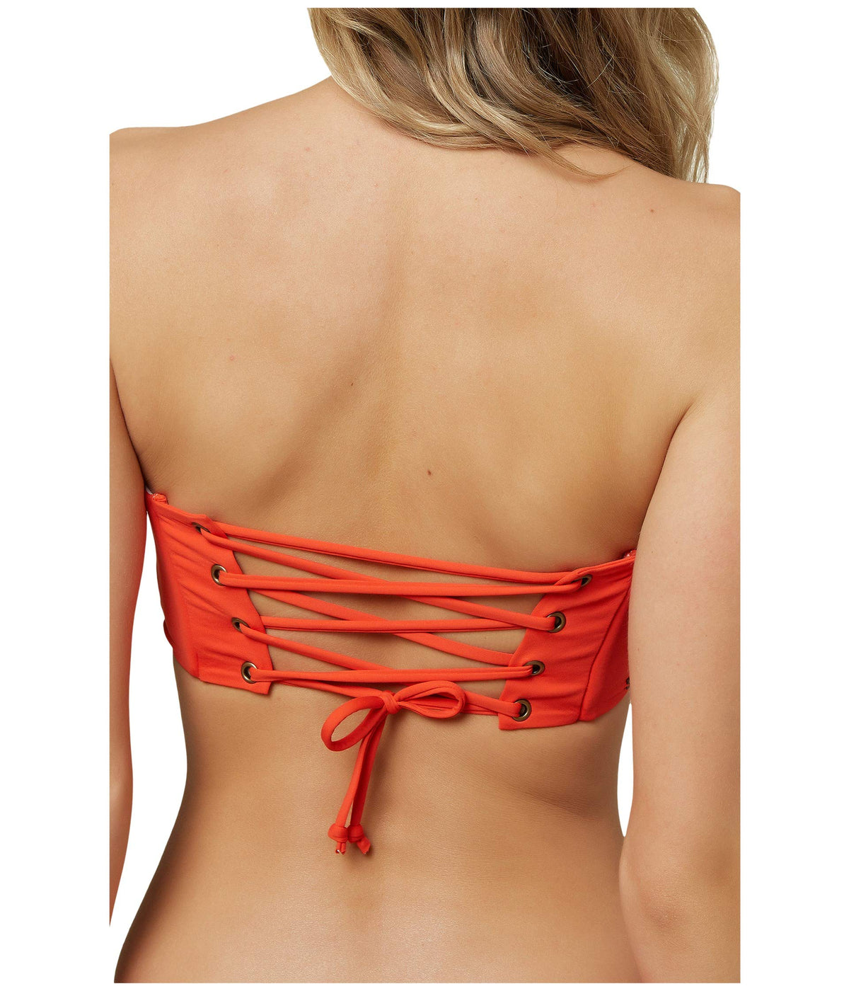Saltwater Solids Bandeau Top