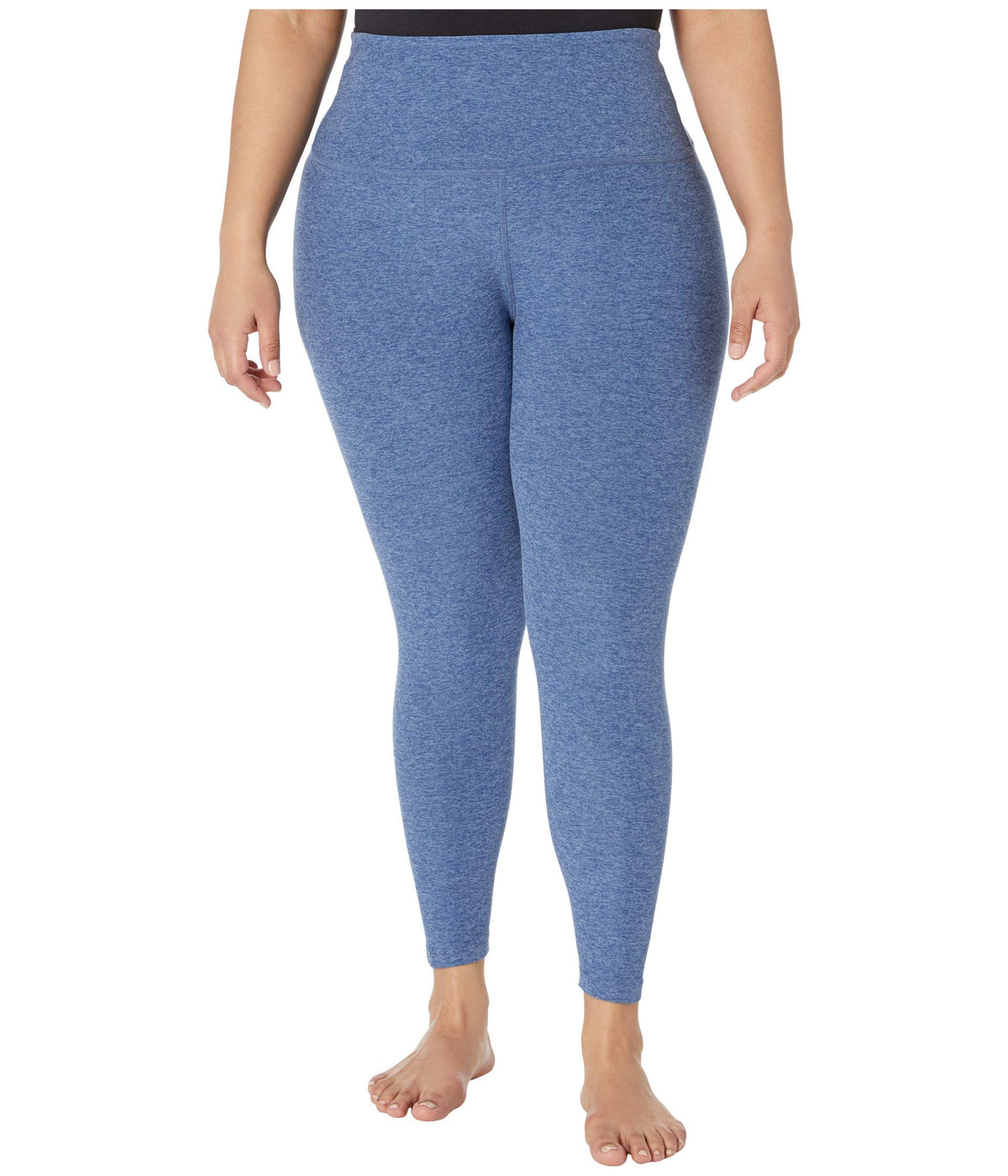 Plus Size High Waisted Midi Leggings