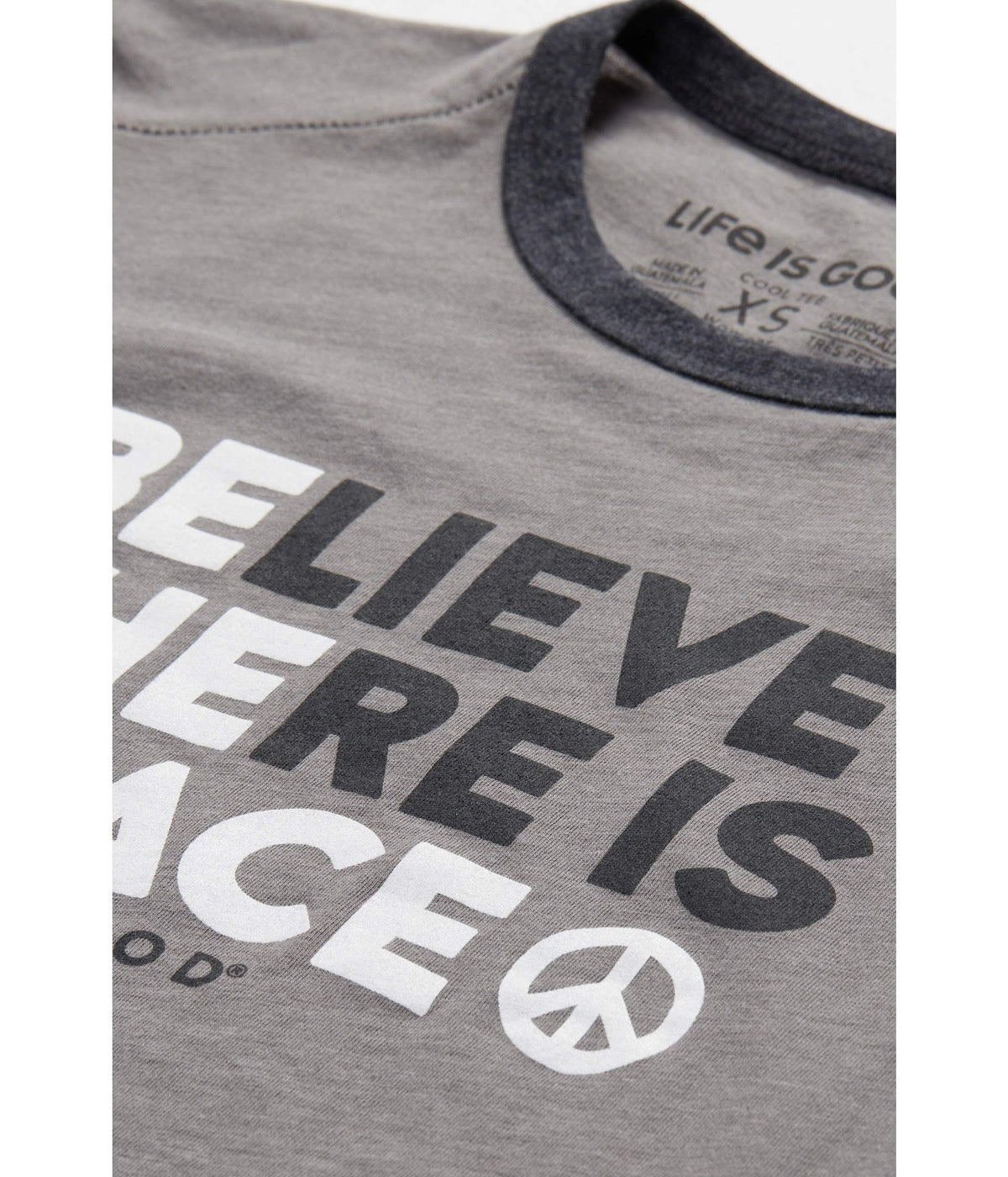 Be the Peace Ringer Cool Tee
