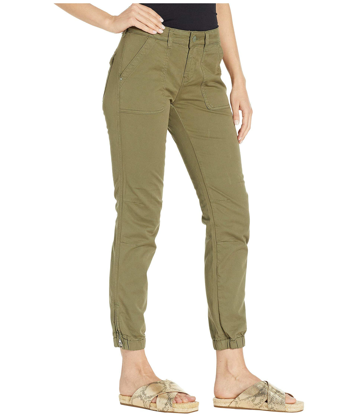Ivy Slim Cargo in Khaki