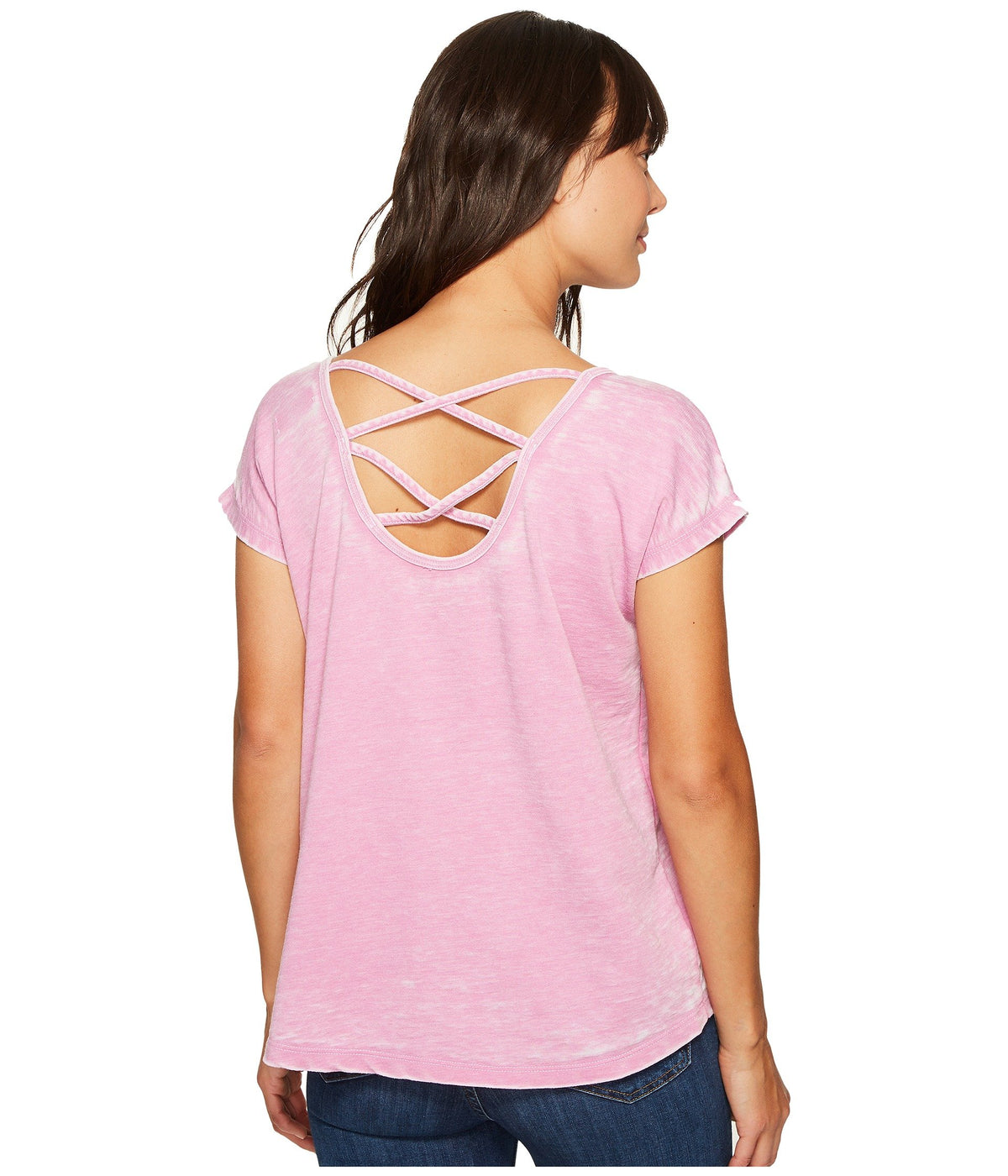 Double Cross Back Tee