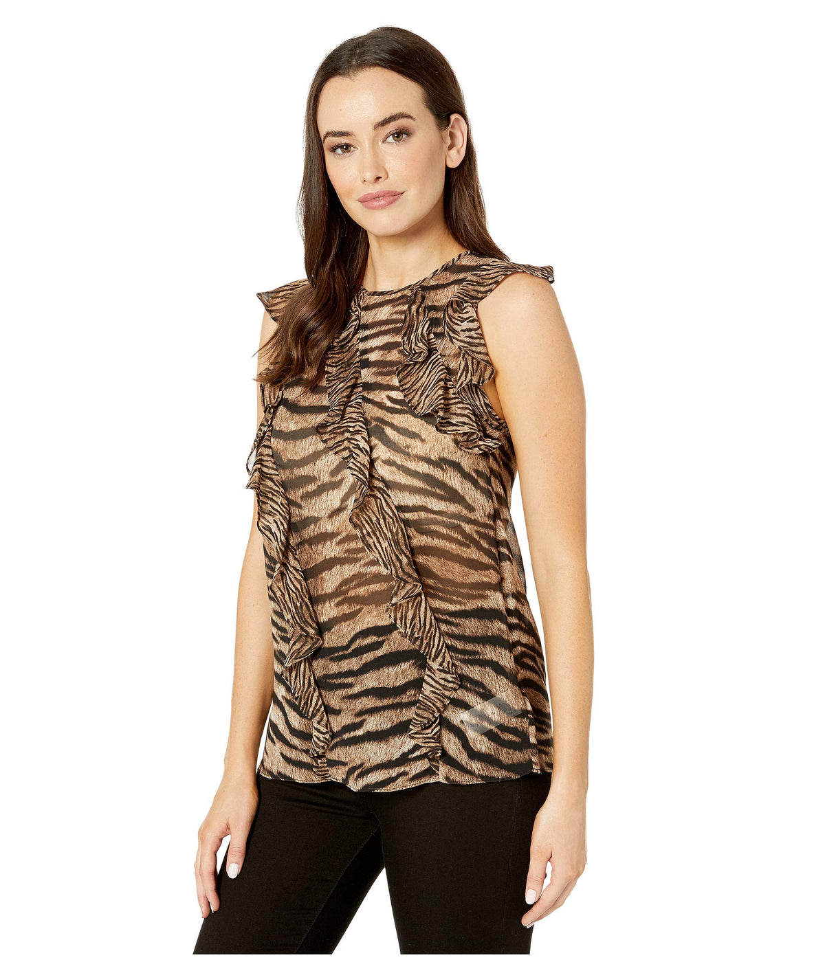 Glam Bengal Ruffle Top