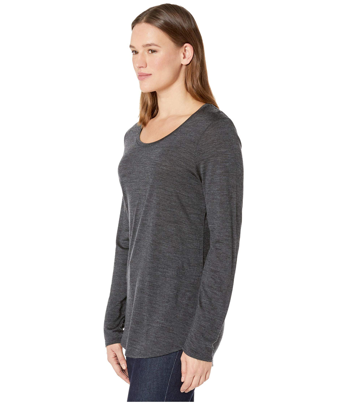 Solace Merino Long Sleeve Scoop