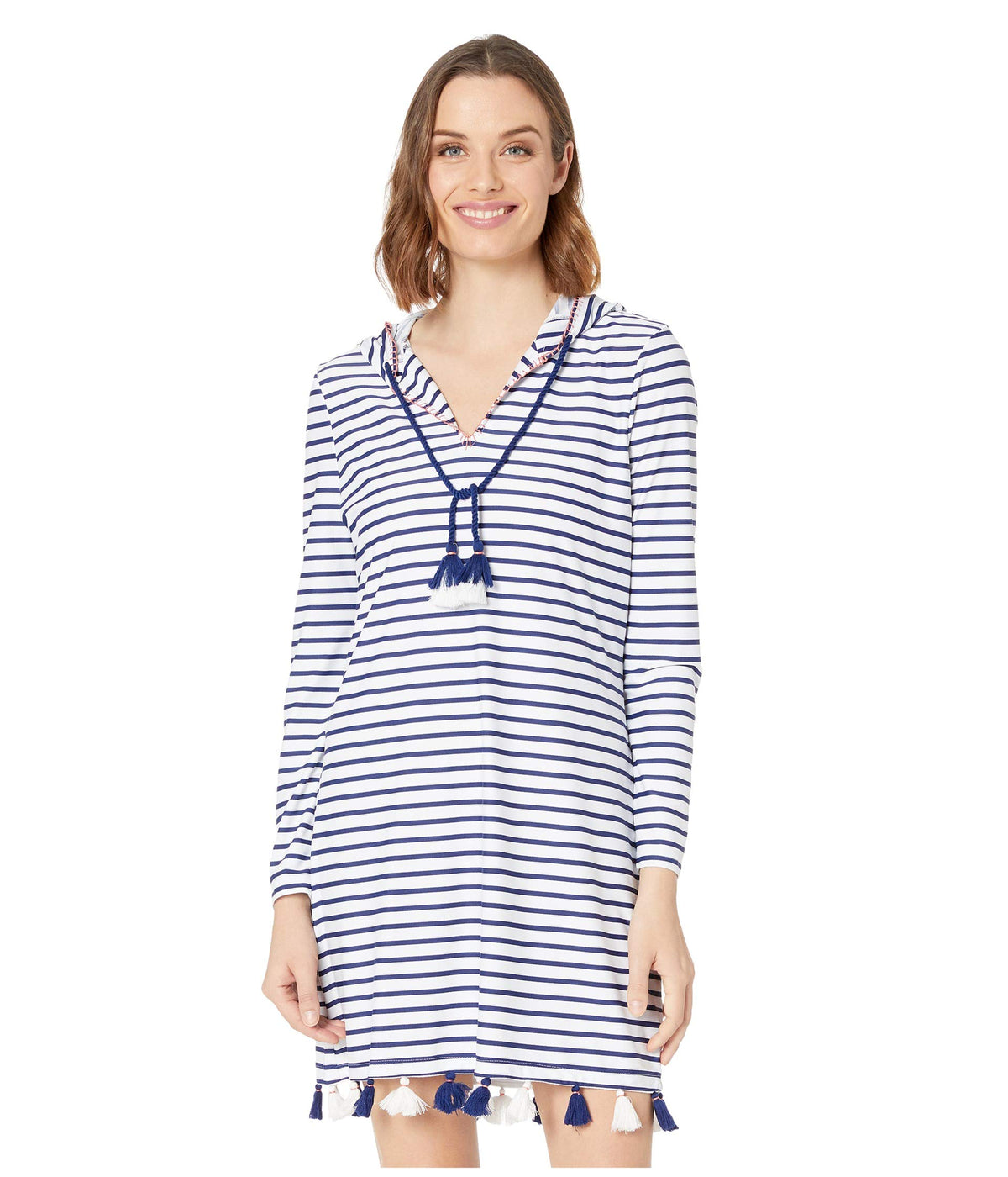 Essentials Coverluxe Hooded Cover-Up
