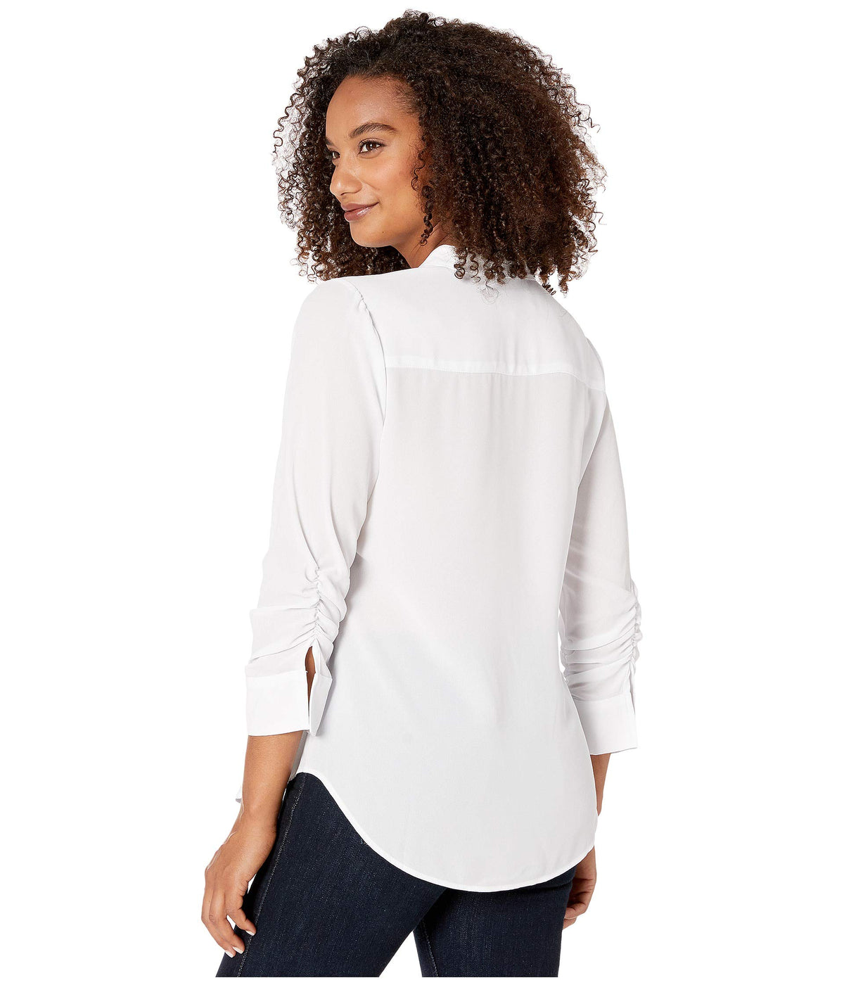 Shirred Sleeve Shirt