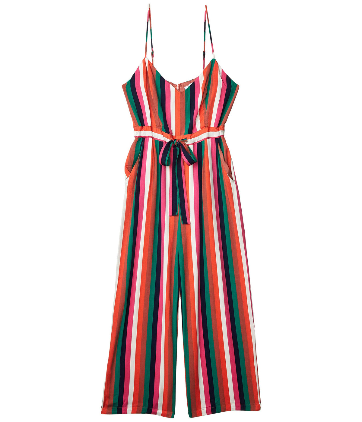 Flying Colors Printed Heavy Rayon Jumpsuit