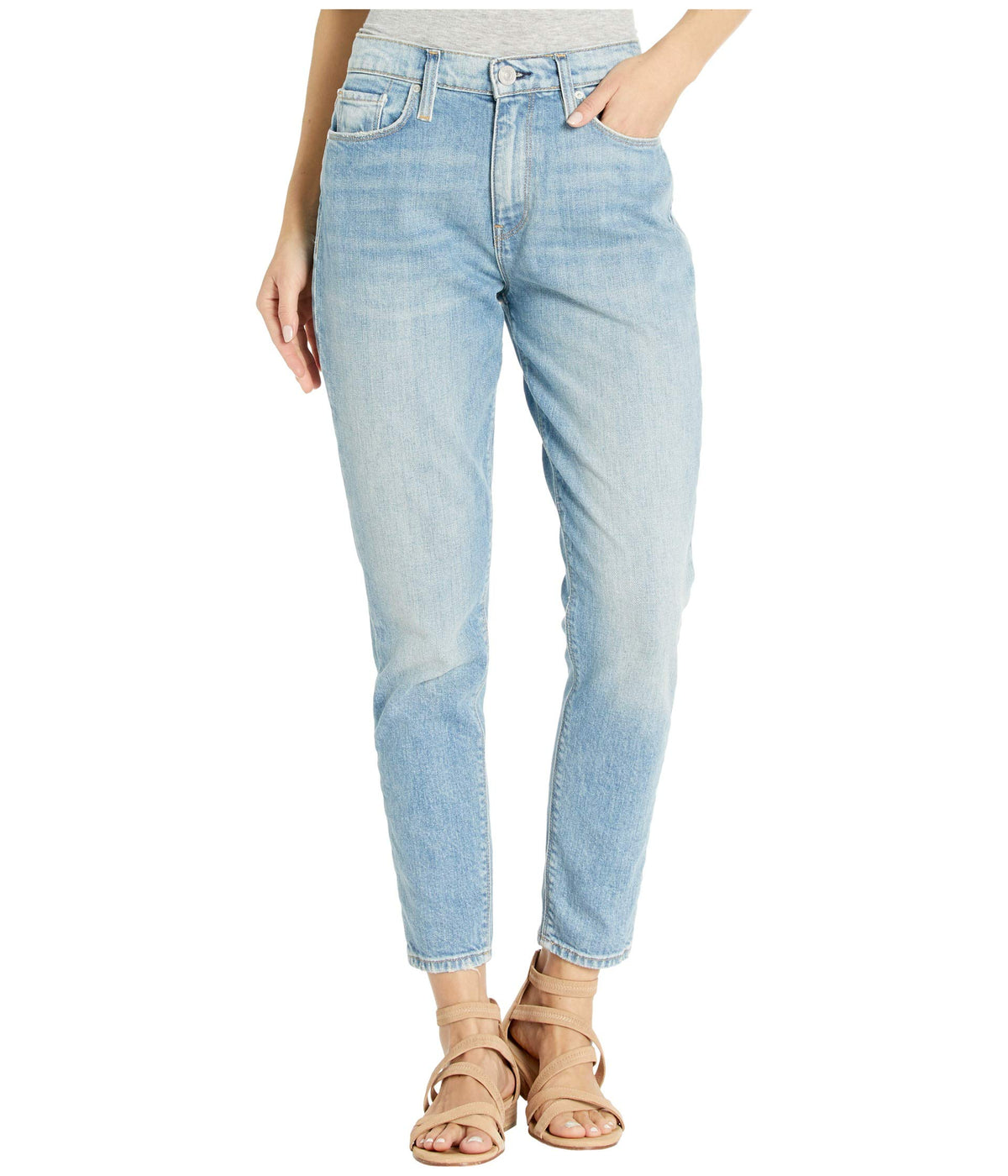Bettie High-Rise Taper Jeans in Push It