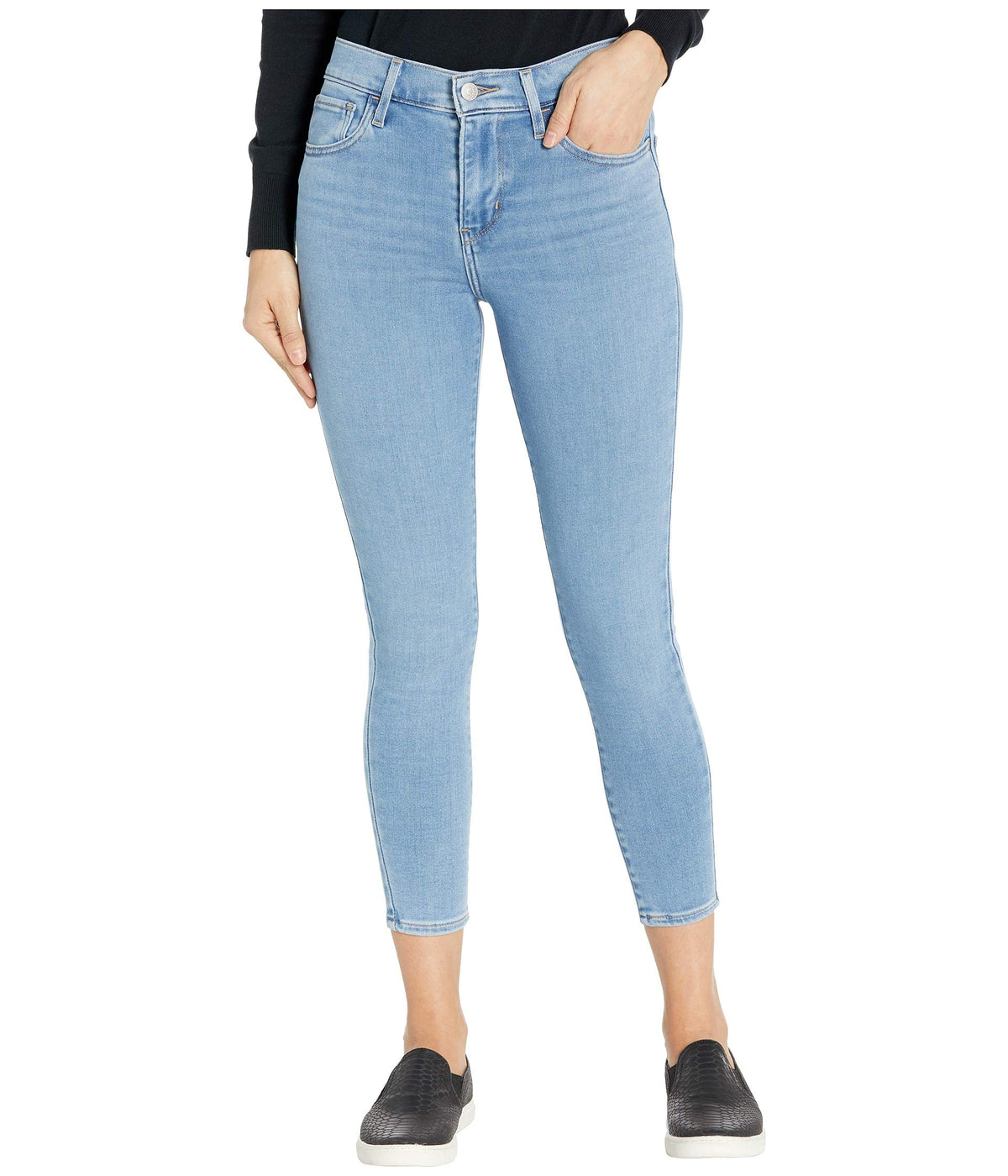 720 High-Rise Super Skinny Crop