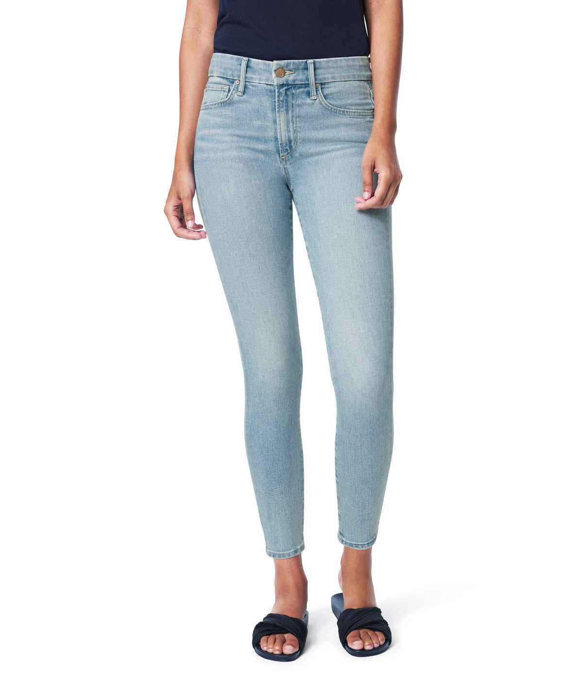 Icon Crop Jeans in Plumeria