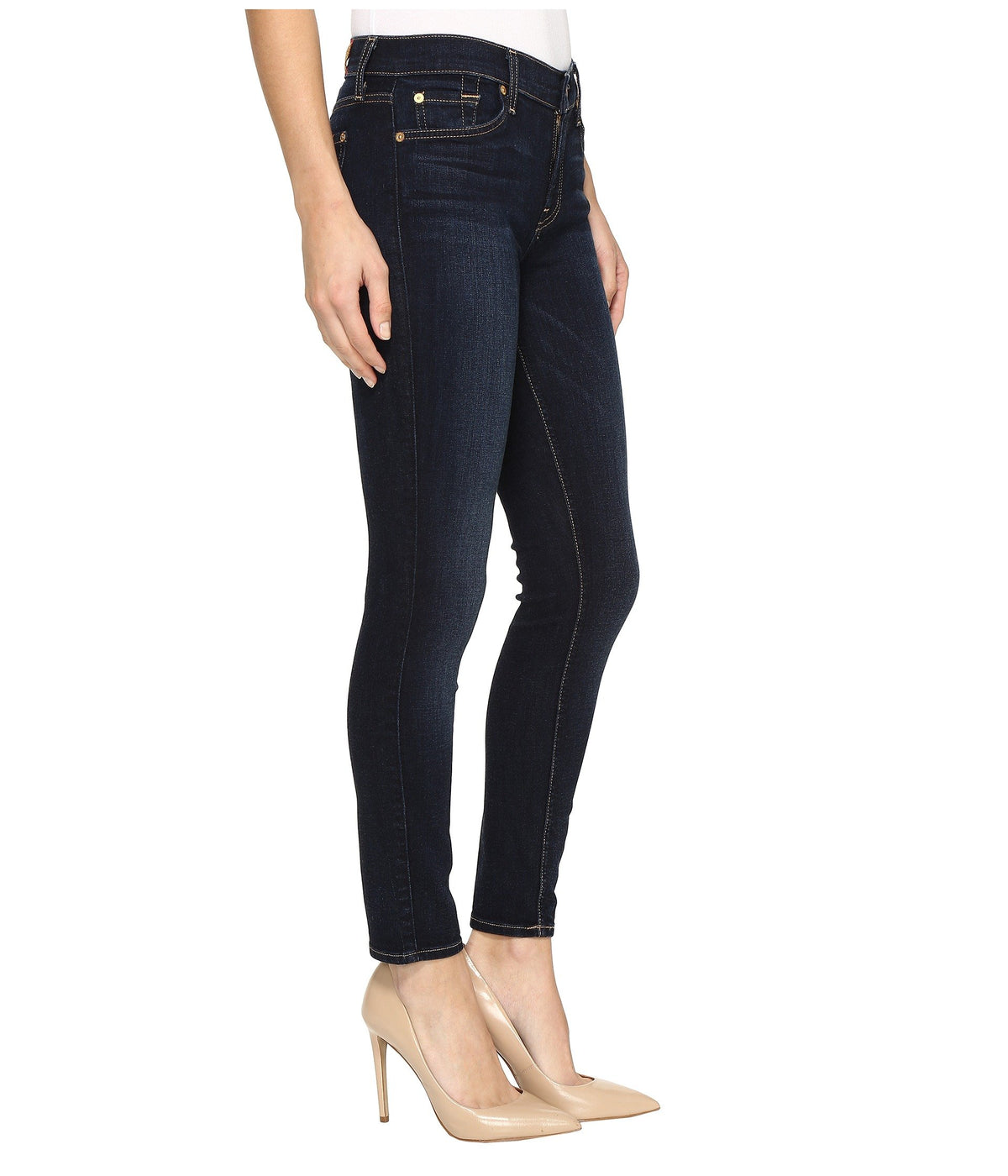 Ankle Skinny in Dark Moonlight Bay
