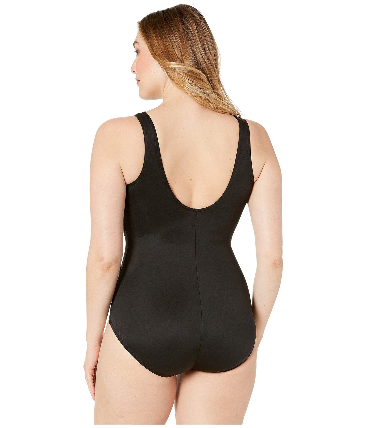 Plus Size Solid Palma One-Piece