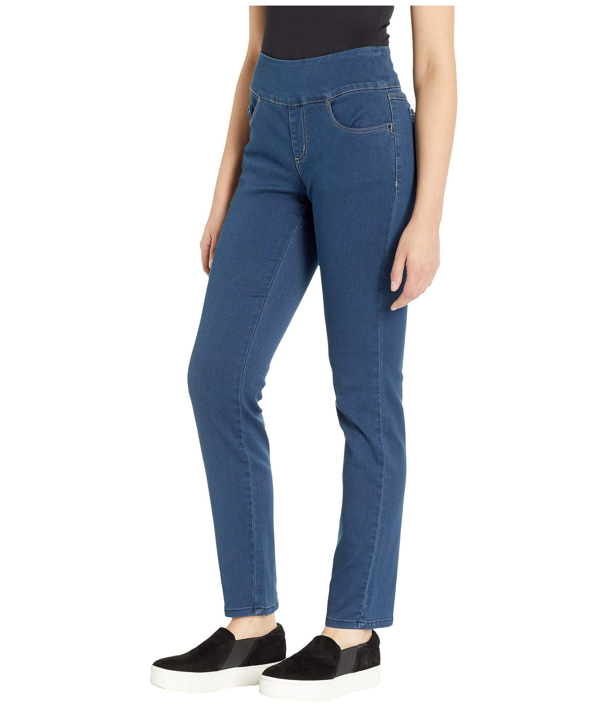 D-Lux Denim Pull-On Slim Ankle in Indigo