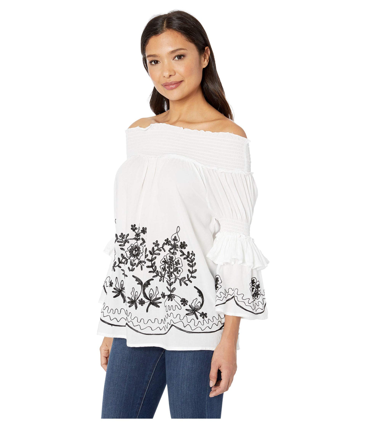 Ireland Flirty Off the Shoulder Blouse