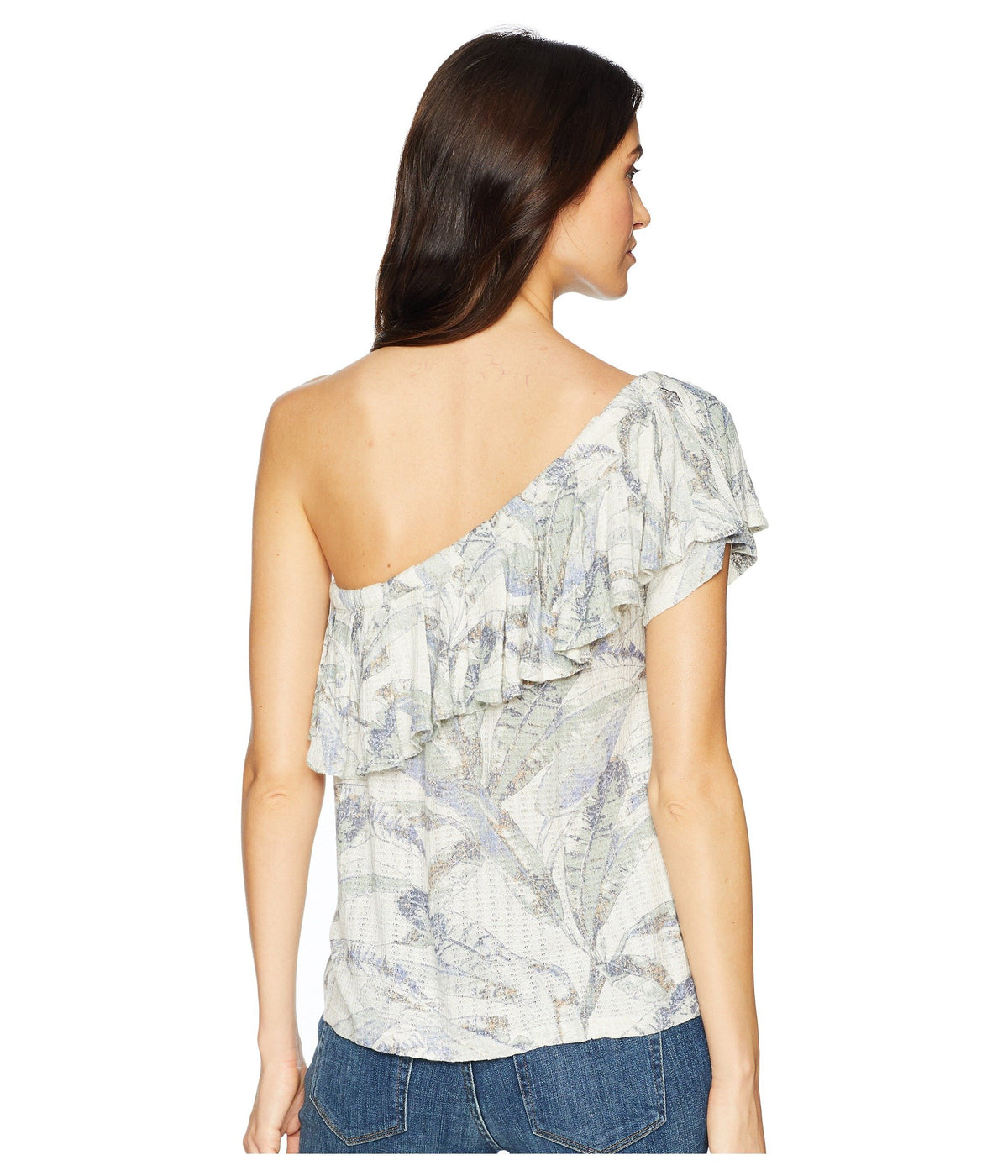 Tropical One Shoulder Top