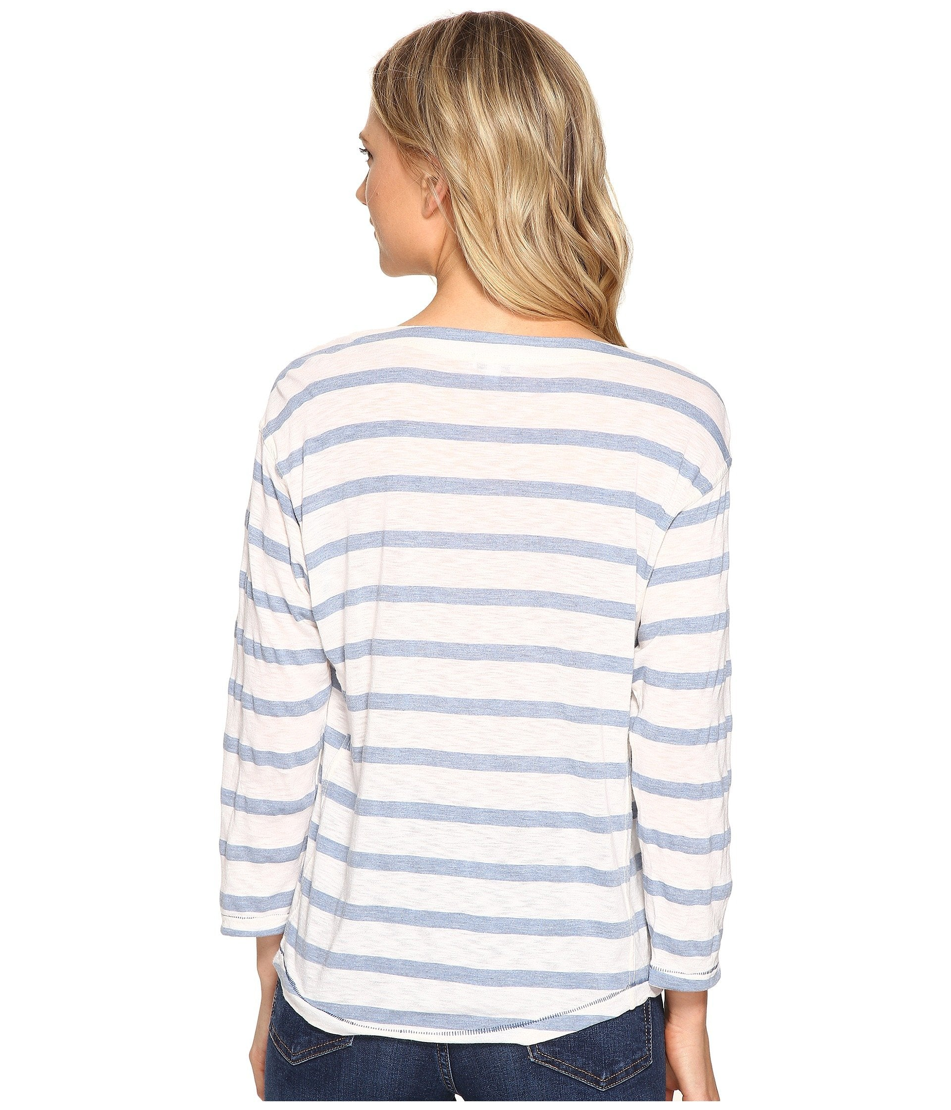 Cliffbrook Melange Lace-Up Top