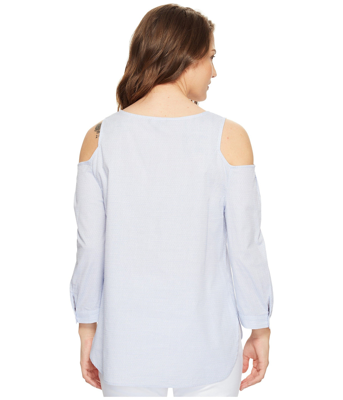 Petite Agnes Colder Shoulder Top