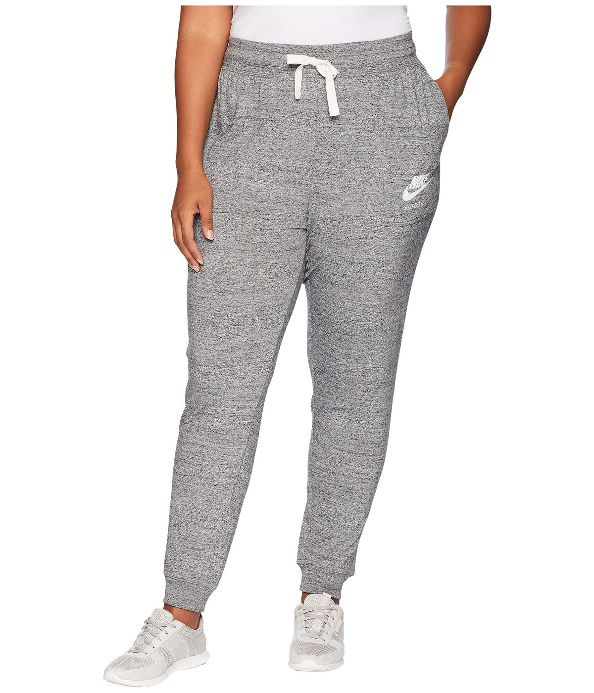 Plus Size Gym Vintage Extended Pants