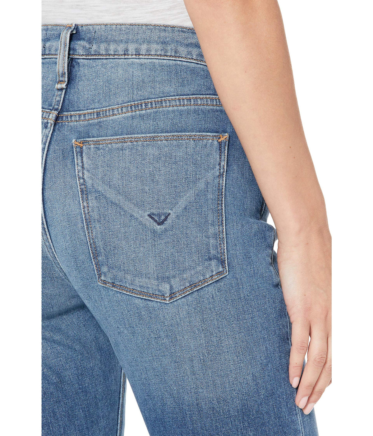 Jessi Relaxed Cropped Boyfriend Jeans in Modify
