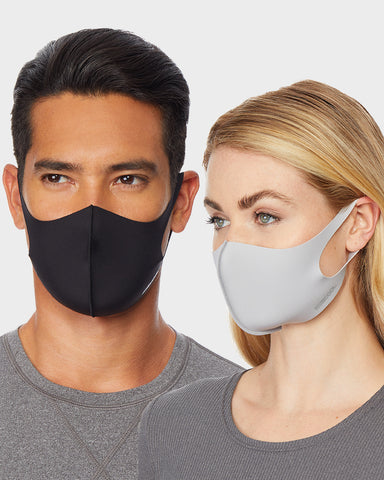 REUSABLE UNISEX 3-PACK FACE COVERING MASK