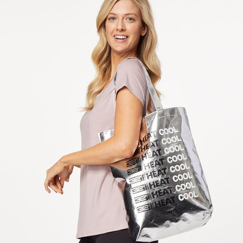 32DEGREES SILVER TOTE