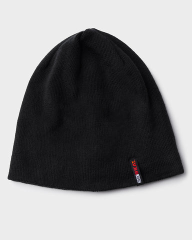 UNISEX RIB KNIT HEAT LINED BEANIE