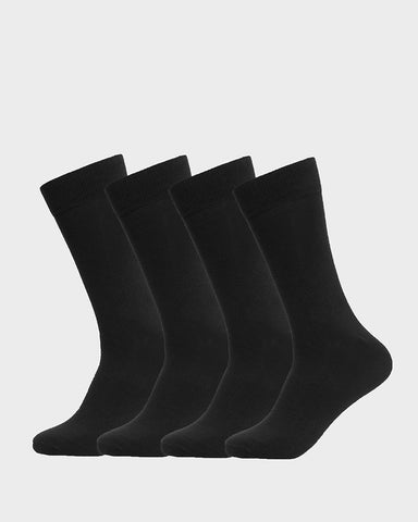 UNISEX 4 PACK PERFORMANCE CREW SOCKS